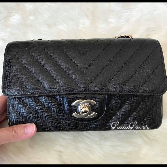 1fa86196851530 CHANEL Bags | Soldauth New 18b Blk Caviar Rectangle Ghw | Poshmark